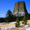 Башня дьявола, Вайоминг, США