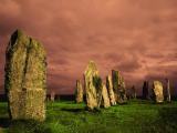 Калланишское каменное кольцо, остров Льюис, Северные Гебриды, Шотландия