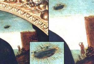 древние изображения НЛО