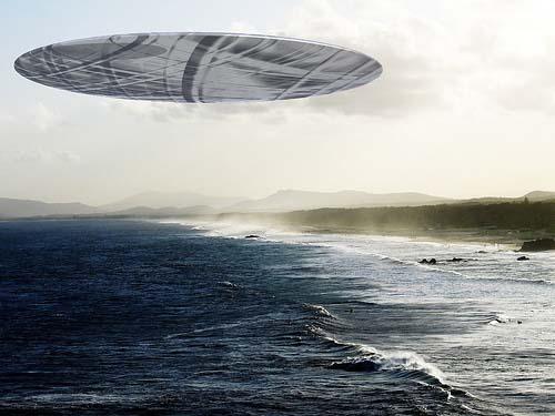 НЛО в Средиземном море