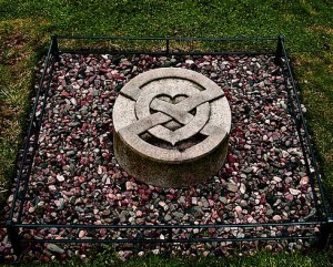 захоранение сердца Роберта Брюса, Мелроузское аббатство, Шотландия