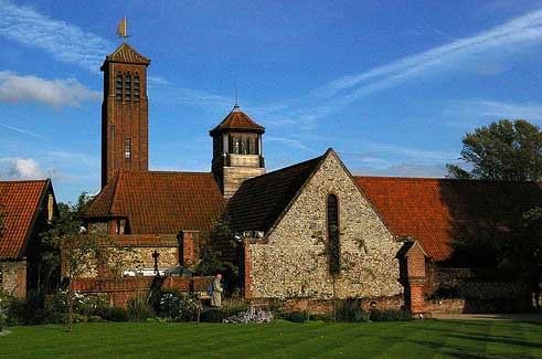 англиканская церковь Девы Марии, Вальсингам, Англия
