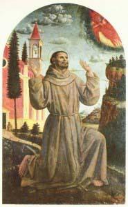 Винченцо Фоппа, Святой Франциск принимает стигматы.