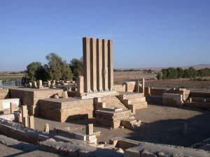 храм Билькис, храм бога Луны, Йемен