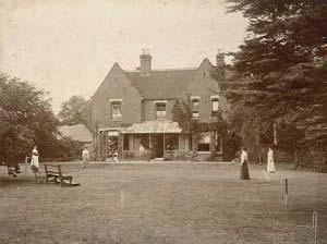 Дом священника в Борли, 1892 год
