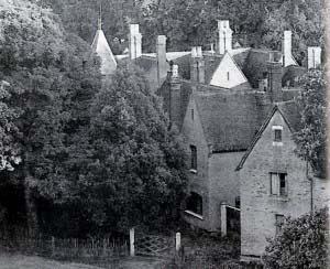 Дом священника в Борли, вид из церковной башни