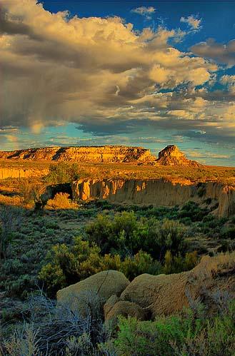 Загадочный каньон Чако, Нью-Мексико, США
