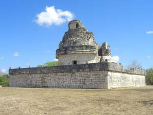 Развалины обсерватории в Чичен-Ице