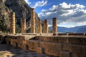храм Аполлона, Дельфы, Греция