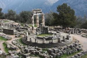 храм Артемиды, Дельфы, Греция