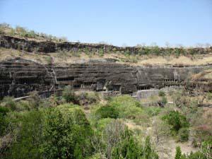 Эллорские (элюрские) пещеры, Индия