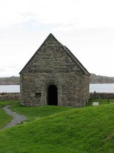 часовня на острове Иона, Шотландия