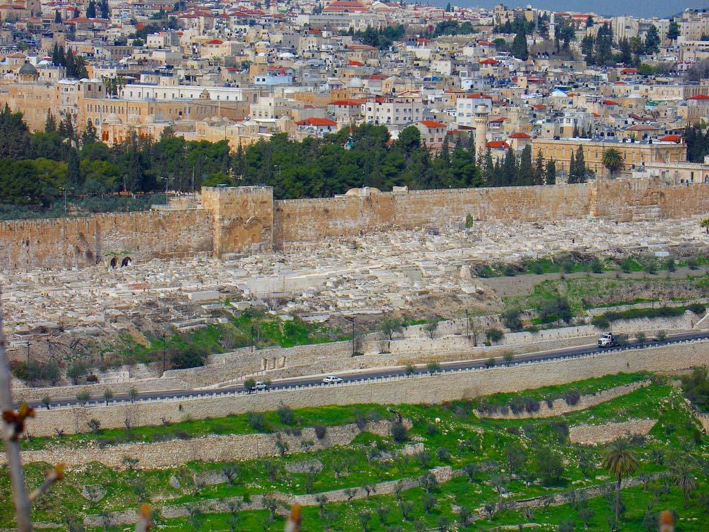Долина Кедрон, Иерусалим, Израиль