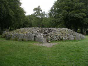 Пирамиды в Клаве, Ближний Инвернесс, Шотландия