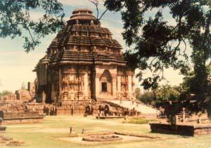 Конарак, Храм Солнца,Индия