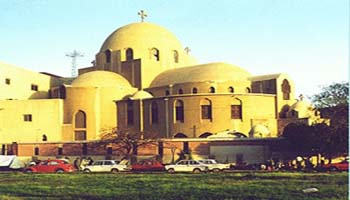 Коптская церковь Св. Марка, Зейтун, Египет