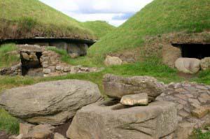 Мегалитическая гробница в Ноуте, Ирландия