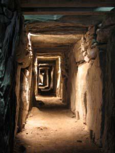 Коридоры гробницы в Ноуте