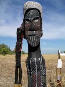искусство народа Тиви, Австралия
