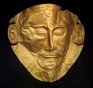 маска Агамемнона, Микены, Греция
