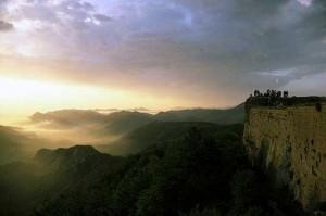 Поле Сожженных, замок Монсегюр, Пиренеи, Франция