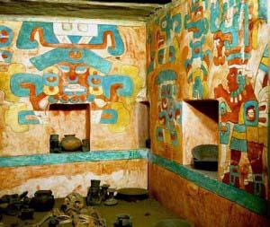 барельеф в храме Дансантес