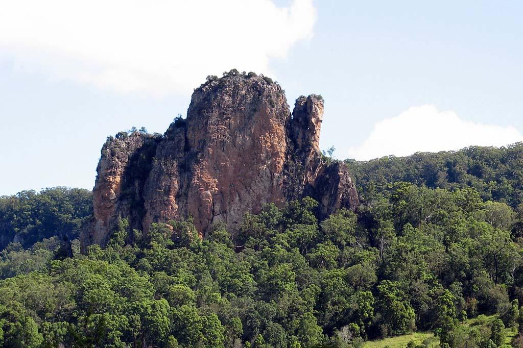 скала недалеко от Нимбина, Новый Южный Уэльс, Австралия