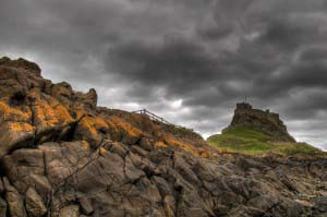 Замок Линдисфарн, Святой Остров (Линдисфарн), Англия