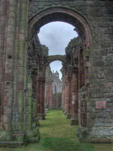 монастырь Линдисфарн, Святой Остров, Англия