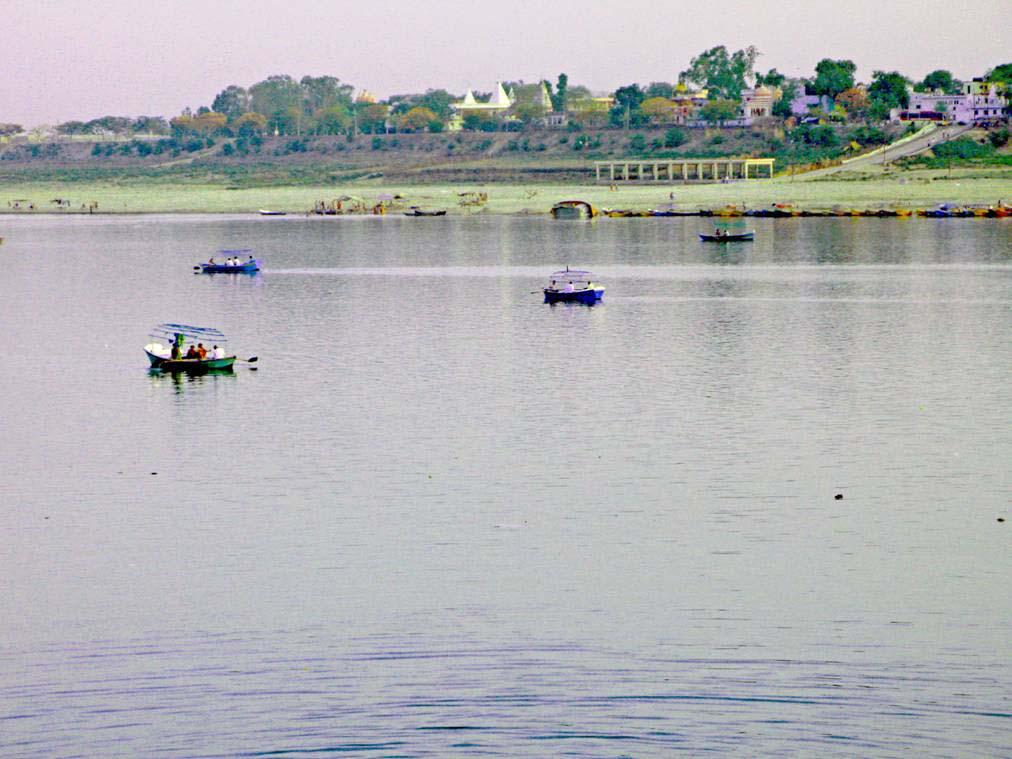 Прайаг, недалеко от Аллахабада, Индия