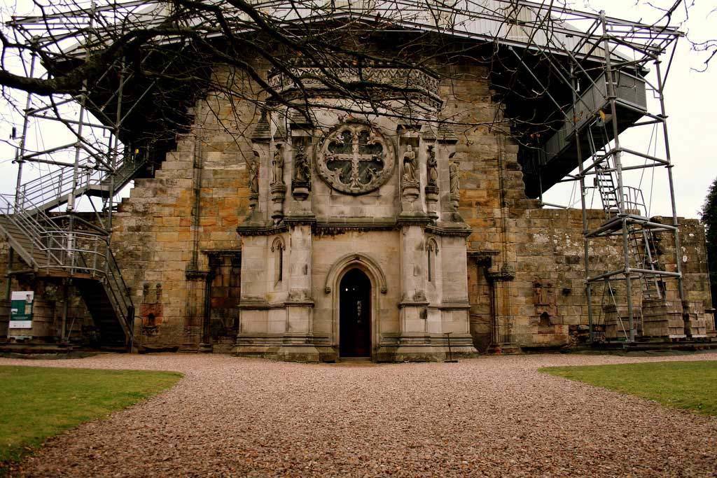 Росслинская часовня, Росслин, Шотландия