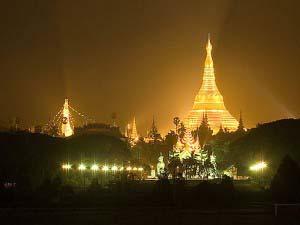 Шведагон, Золотая ступа, Мьянма
