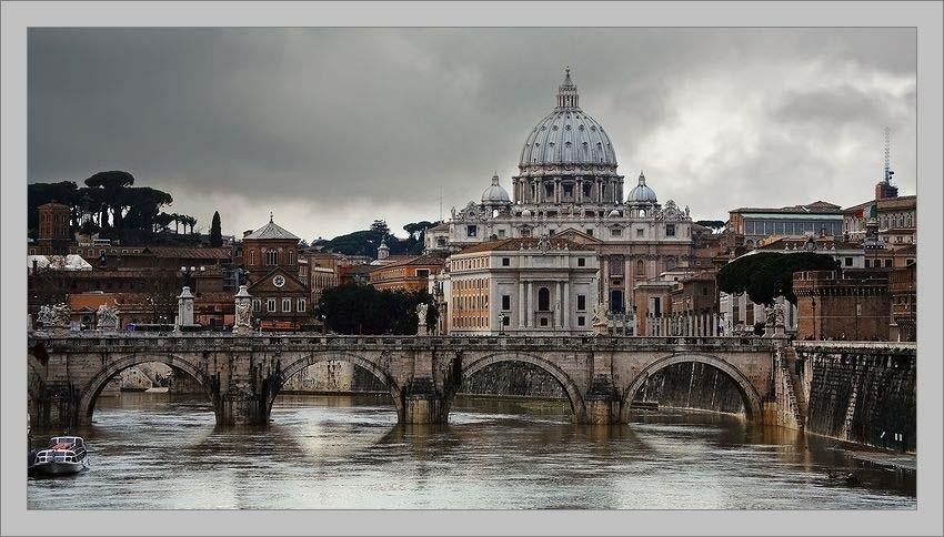Святого петра ватикан рим италия
